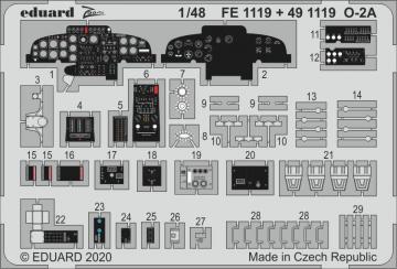 O-2A Skymaster [ICM] · EDU FE1119 ·  Eduard · 1:48