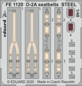 O-2A Skymaster - Seatbelts STEEL [ICM] · EDU FE1120 ·  Eduard · 1:48
