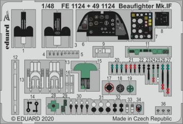 Beaufighter Mk.IF [Revell] · EDU FE1124 ·  Eduard · 1:48