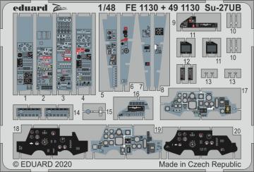 Su-27UB Flanker [Kitty Hawk] · EDU FE1130 ·  Eduard · 1:48