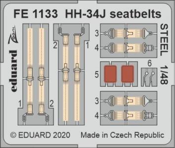 HH-34J - Seatbelts STEEL [Trumpeter] · EDU FE1133 ·  Eduard · 1:48