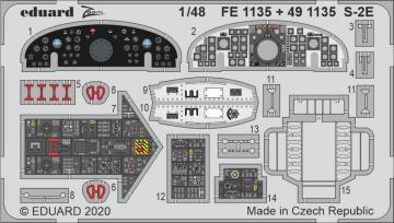 Grumman S-2E [ Kinetic] · EDU FE1135 ·  Eduard · 1:48