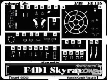 F4D1 Skyray · EDU FE115 ·  Eduard · 1:48