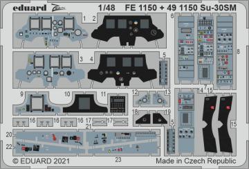 Sukhoi Su-30SM [Kitty Hawk] · EDU FE1150 ·  Eduard · 1:48