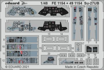 Sukhoi Su-27UB [Great Wall Hobby] · EDU FE1154 ·  Eduard · 1:48