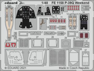 P-39Q - Weekend [Eduard] · EDU FE1158 ·  Eduard · 1:48