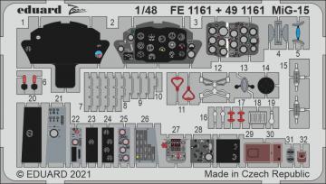 MiG-15 [Bronco] · EDU FE1161 ·  Eduard · 1:48