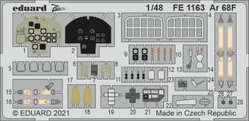Arado Ar 68F [Roden] · EDU FE1163 ·  Eduard · 1:48