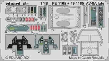 AV-8A Harrier late [Kinetic Models] · EDU FE1165 ·  Eduard · 1:48
