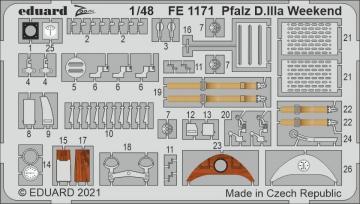 Pfalz D.IIIa - Weekend [Eduard] · EDU FE1171 ·  Eduard · 1:48