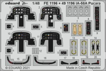 IA-58A Pucara [Kinetic Models] · EDU FE1196 ·  Eduard · 1:48