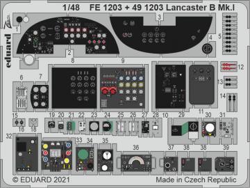 Lancaster B Mk.I [HKM] · EDU FE1203 ·  Eduard · 1:48