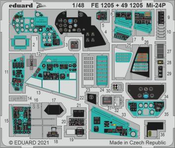 Mi-24P [Zvezda] · EDU FE1205 ·  Eduard · 1:48