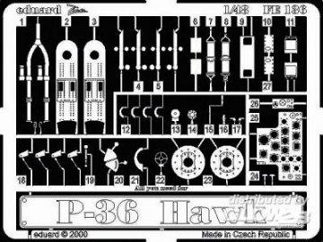 P-36 Hawk · EDU FE136 ·  Eduard · 1:48