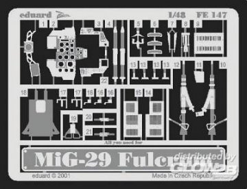 MiG-29 · EDU FE147 ·  Eduard · 1:48
