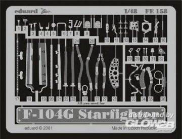 F-104G Starfighter · EDU FE158 ·  Eduard · 1:48