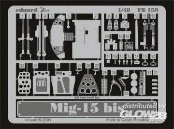 MiG-15 bis · EDU FE159 ·  Eduard · 1:48