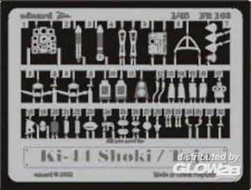 Ki-44 Shoki/Tojo · EDU FE163 ·  Eduard · 1:48