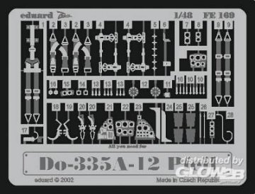 Dornier Do 335A-12 Pfeil · EDU FE169 ·  Eduard · 1:48