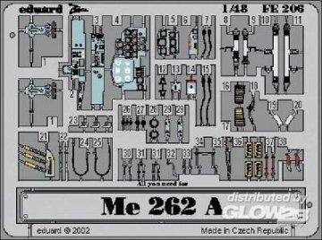 Messerschmitt Me 262 A-2 · EDU FE206 ·  Eduard · 1:48