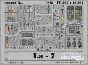 La-7 · EDU FE207 ·  Eduard · 1:48