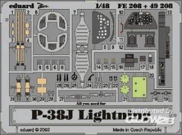 P-38J Lighting · EDU FE208 ·  Eduard · 1:48