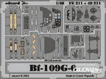 Messerschmitt Bf 109 G-6 · EDU FE211 ·  Eduard · 1:48