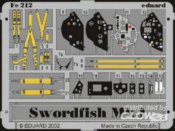 Swordfish Mk.I · EDU FE212 ·  Eduard · 1:48