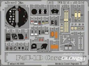 F4U-1D Corsair · EDU FE215 ·  Eduard · 1:48