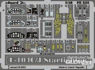 F-104C/J Starfighter · EDU FE222 ·  Eduard · 1:48