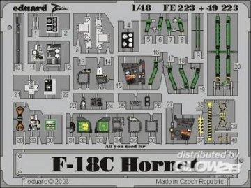 F-18C Hornet · EDU FE223 ·  Eduard · 1:48