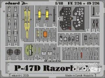 P-47D Razorback · EDU FE226 ·  Eduard · 1:48