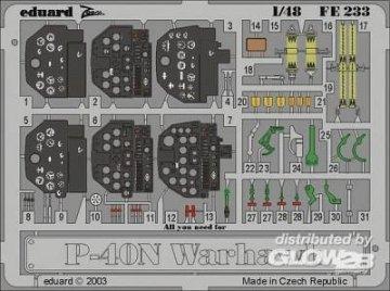 P-40N Warhawk · EDU FE233 ·  Eduard · 1:48