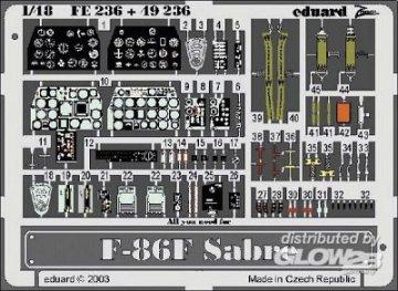 F-86F Sabre · EDU FE236 ·  Eduard · 1:48