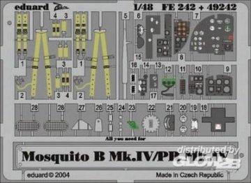 Mosquito B.Mk.IV/PR Mk.IV [Tamiya] · EDU FE242 ·  Eduard · 1:48