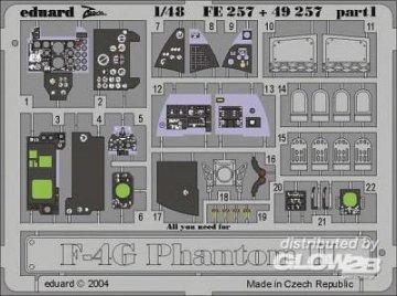 F-4G Phantom II · EDU FE257 ·  Eduard · 1:48