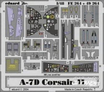 A-7D Corsair II · EDU FE264 ·  Eduard · 1:48