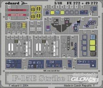 F-15E Strike Eagle - Interior Set · EDU FE272 ·  Eduard · 1:48