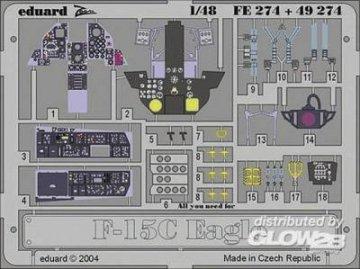 F-15C Eagle · EDU FE274 ·  Eduard · 1:48