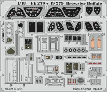 Brewster Buffalo · EDU FE279 ·  Eduard · 1:48