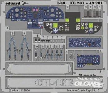 CH-46E Sea Knight - Interior · EDU FE281 ·  Eduard · 1:48