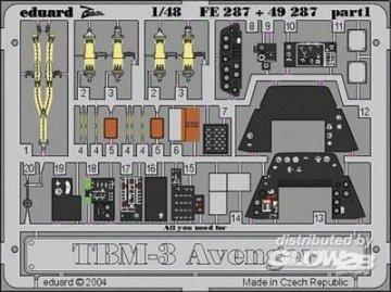 TBM-3 Avenger · EDU FE287 ·  Eduard · 1:48