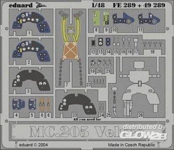 MC.205 Veltro · EDU FE289 ·  Eduard · 1:48