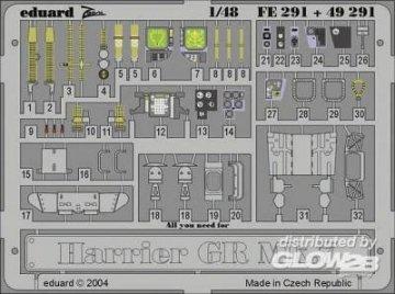 Harrier GR Mk.7 · EDU FE291 ·  Eduard · 1:48