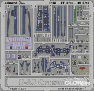 F-8J Crusader · EDU FE294 ·  Eduard · 1:48