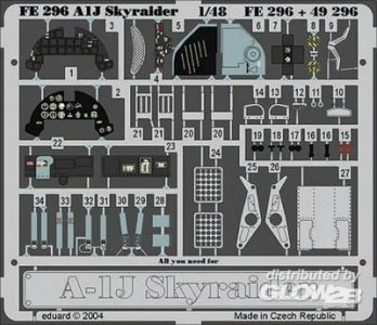 A-1J Skyraider · EDU FE296 ·  Eduard · 1:48
