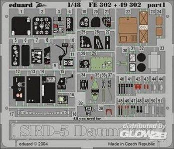 SBD-5 Dauntless · EDU FE302 ·  Eduard · 1:48