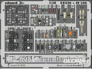 P-47N Thunderbolt [Academy] · EDU FE326 ·  Eduard · 1:48