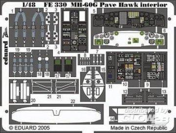 MH-60G Pave Hawk - Interior · EDU FE330 ·  Eduard · 1:48