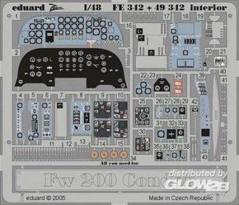 Focke-Wulf Fw 200 Condor - Interior · EDU FE342 ·  Eduard · 1:48
